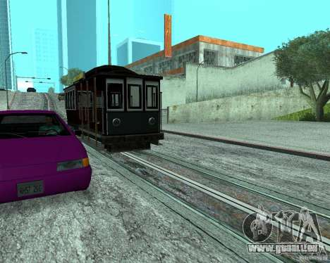 Nouvelles machines de couleurs pour GTA San Andreas troisième écran