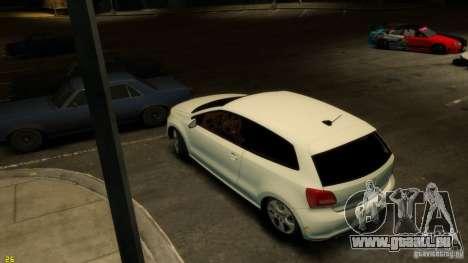 Volkswagen Polo v1.0 pour GTA 4 Vue arrière de la gauche