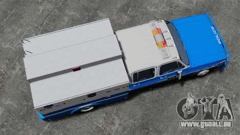 GMC C3500 NYPD ESU für GTA 4 rechte Ansicht