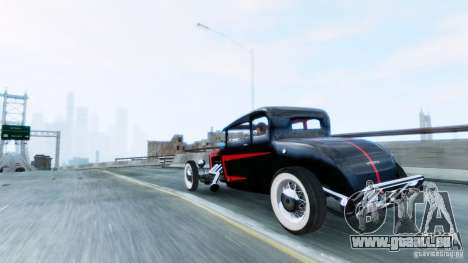 Smith 34 Hot Rod für GTA 4 linke Ansicht