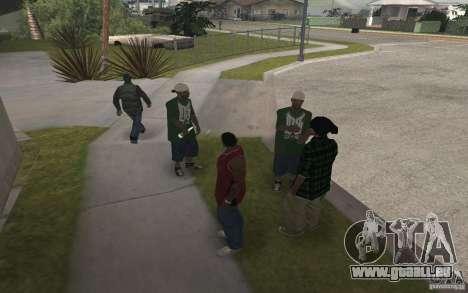 Grove Street Skin Pack für GTA San Andreas sechsten Screenshot