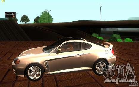 Hyundai Tiburon V6 Coupe 2003 für GTA San Andreas linke Ansicht