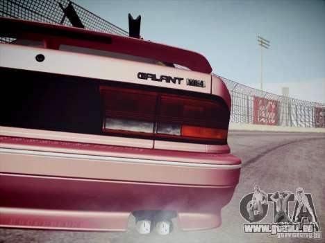 Mitsubishi Galant 1992 JDM pour GTA San Andreas vue arrière