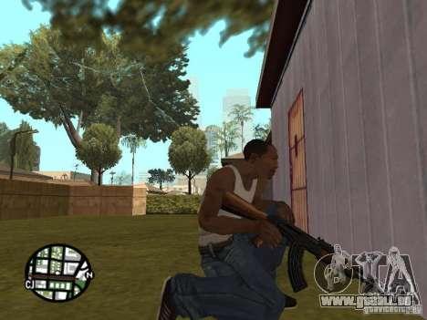 AK-47 neuf pour GTA San Andreas