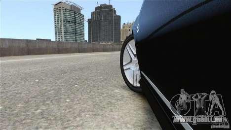 Mercedes-Benz CL65 AMG v1.5 pour GTA 4 est une vue de l'intérieur