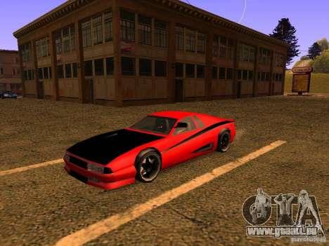 New Cheetah pour GTA San Andreas