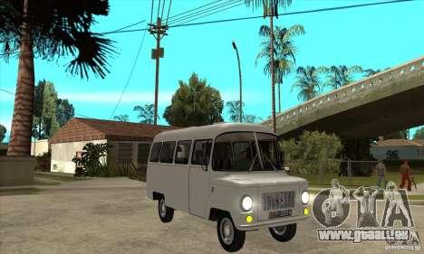 FSD Nysa 522 pour GTA San Andreas vue intérieure