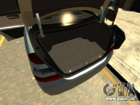 Mercedes-Benz W221 S500 pour le moteur de GTA 4
