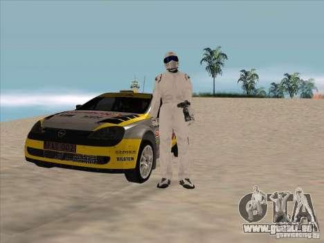 Opel Rally Car für GTA San Andreas Rückansicht