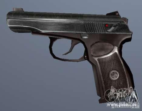 Pistolet Makarov pour GTA San Andreas deuxième écran
