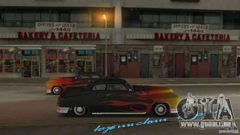 Cuban Hermes HD pour une vue GTA Vice City de la droite