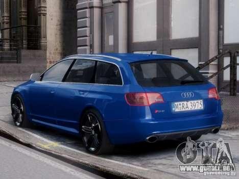 Audi RS6 Avant für GTA 4 linke Ansicht