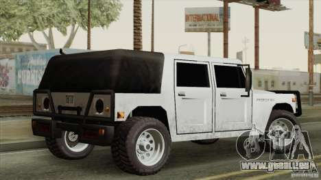 New Patriot HQ für GTA San Andreas zurück linke Ansicht