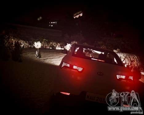 Kia Cerato Koup 2011 pour GTA 4 est une vue de l'intérieur