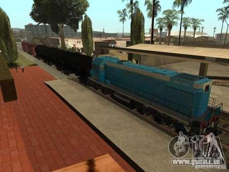 Tem2u-9392 für GTA San Andreas zurück linke Ansicht