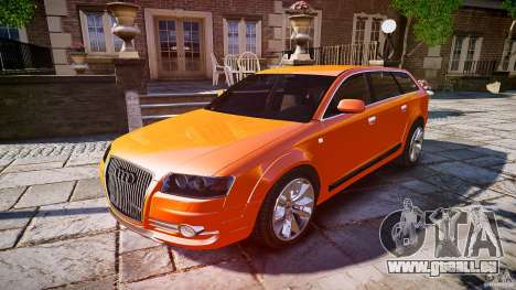 Audi A6 Allroad Quattro 2007 wheel 2 pour GTA 4 Salon