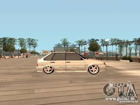 ВАЗ 2114 BÊTE pour GTA San Andreas laissé vue