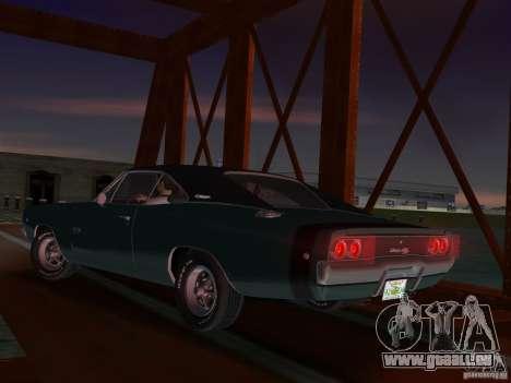 Dodge Charger 426 R/T 1968 v1.0 für GTA Vice City rechten Ansicht