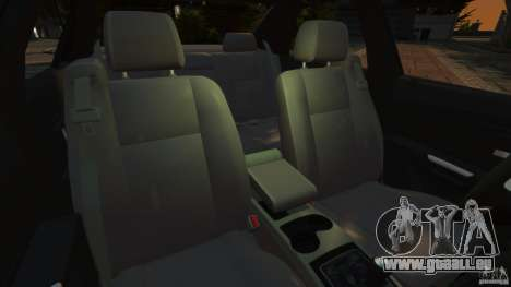 Cadillac CTS-V 2004 pour GTA 4 est une vue de l'intérieur