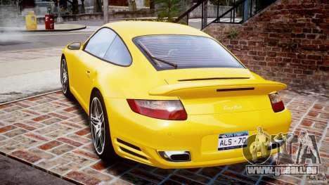 Porsche 911 (997) Turbo v1.0 pour GTA 4 Vue arrière de la gauche