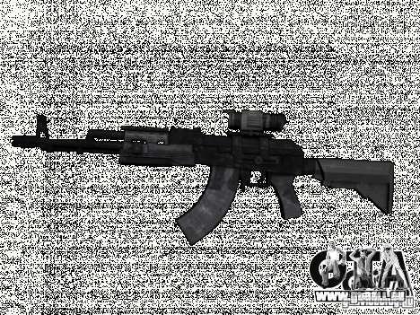 MW2AK47 für GTA San Andreas