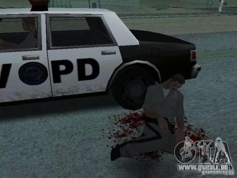 Durch einen Schuss verletzt für GTA San Andreas