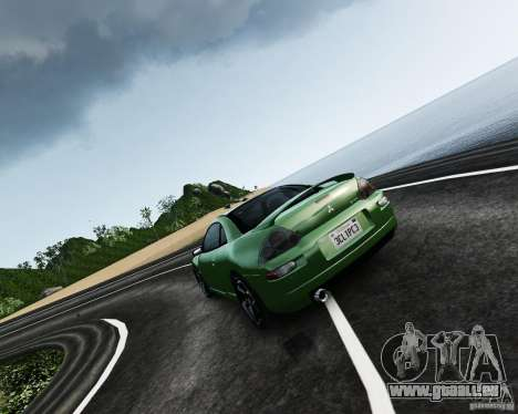 Mitsubishi Eclipse GT-S für GTA 4 linke Ansicht