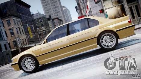 BMW 750i v1.5 pour GTA 4 est un côté