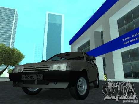 VAZ 2109 CR c. 2 pour GTA San Andreas vue de droite