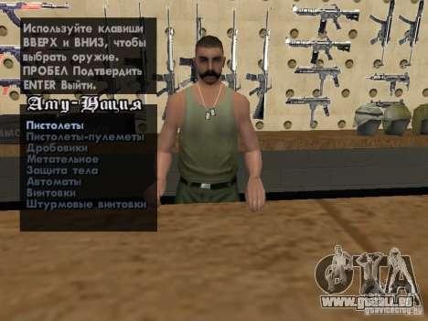 Russian Ammu-nation pour GTA San Andreas septième écran