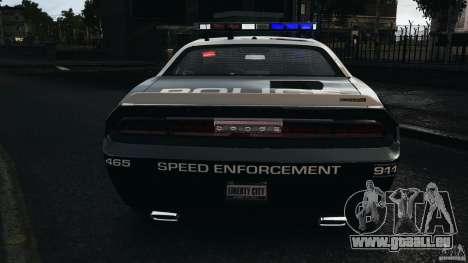 Dodge Challenger SRT8 392 2012 Police [ELS][EPM] pour GTA 4
