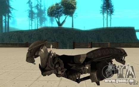 Bike predator für GTA San Andreas linke Ansicht