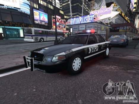 Ford Crown Victoria NYPD Auxiliary für GTA 4