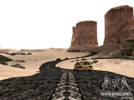 New roads in Las Venturas für GTA San Andreas zweiten Screenshot
