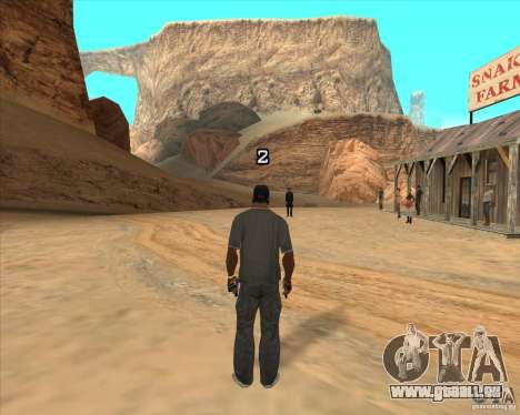 Cowboy Duell v2. 0 für GTA San Andreas