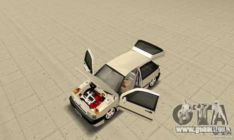 Fiat Tipo 2.0 16V 1995 pour GTA San Andreas vue arrière