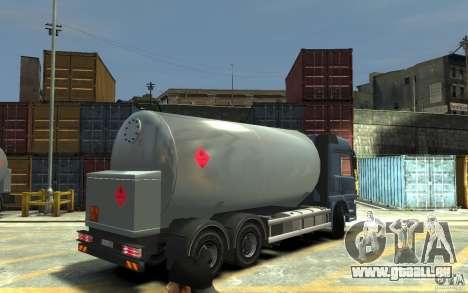 Mercedes Benz Actros Gas Tanker für GTA 4 rechte Ansicht