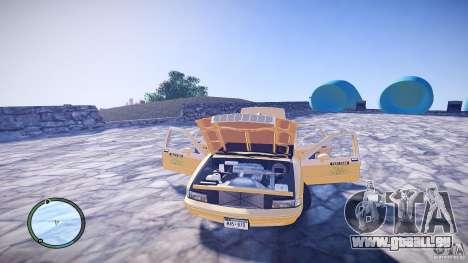 Chevrolet Caprice Taxi pour GTA 4 est un côté