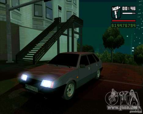 VAZ 2109 05 Final für GTA San Andreas