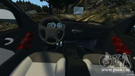 Chevrolet S-10 Colinas Cabine Dupla für GTA 4 Rückansicht