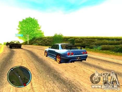 Nissan Skyline B324R pour GTA San Andreas vue de droite