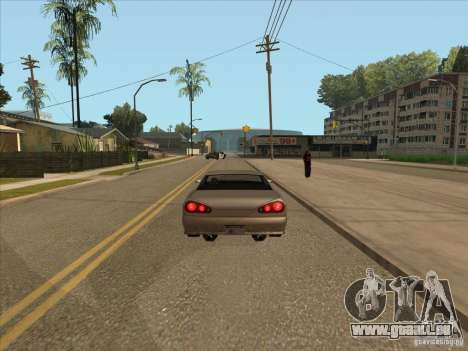 Voiture freinage graduée pour GTA San Andreas troisième écran