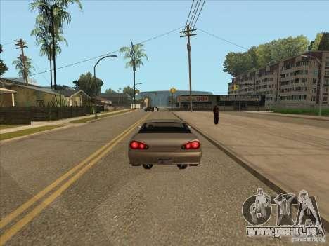 Abgestufte Bremsen Auto für GTA San Andreas dritten Screenshot