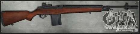 M14 pour GTA San Andreas