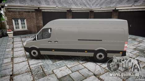 Mercedes Benz Sprinter Long Version für GTA 4 linke Ansicht