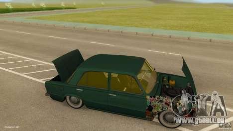VAZ 2101 Low & Classic für GTA San Andreas Rückansicht