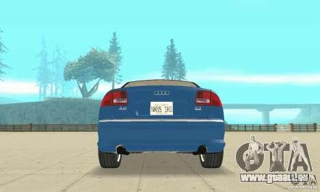 Audi A8L 4.2 FSI für GTA San Andreas Räder