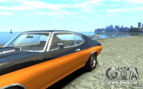 Chevrolet Chevelle SS 1970 pour GTA 4 est un côté