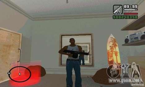 Die AA-12 Schrotflinte für GTA San Andreas her Screenshot