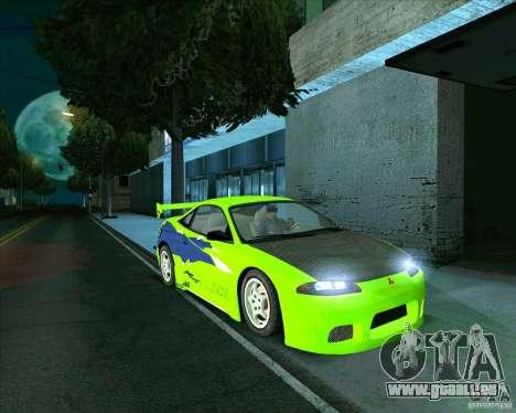 Mitsubishi Eclipse GS-t für GTA San Andreas